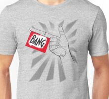 Toy Bang Hand with flag Unisex T-Shirt