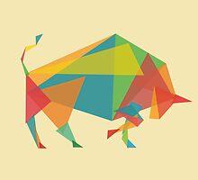 Fractal Geometric Bull by Budi Satria Kwan