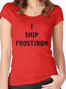 I Ship Frostiron Women's Fitted Scoop T-Shirt