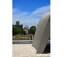 Hiroshima's Peace Monuments Photographic Print