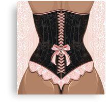 corset Canvas Print