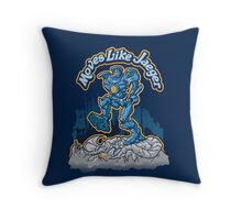 Moves Like Jaeger Throw Pillow