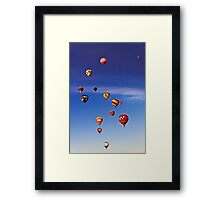 Farewell Mass Ascension.3 Framed Print