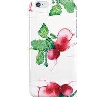 - Radish pattern (white) - iPhone Case/Skin