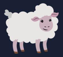 a single happy sheep Kids Tee