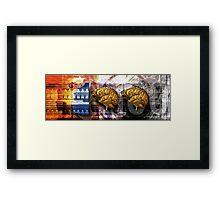 100 Brains Framed Print