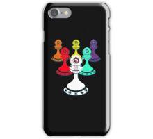 Legion of Pawns (Black) iPhone Case/Skin