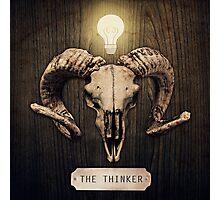 The Thinker Photographic Print