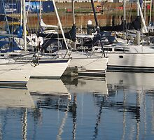 Boat Reflections  by Iani