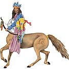 Cherokee Centaur by redqueenself