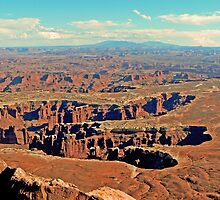 Grand View, Canyonlands by Graeme  Hyde