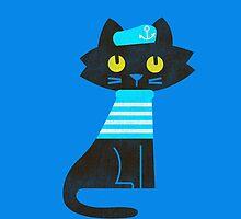 Sailor Cat by Budi Kwan