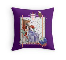The Tarot Emperor Throw Pillow