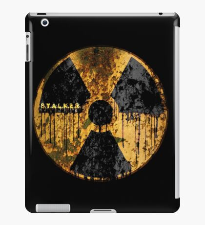 Stalker Radiation Symbol iPad Case/Skin