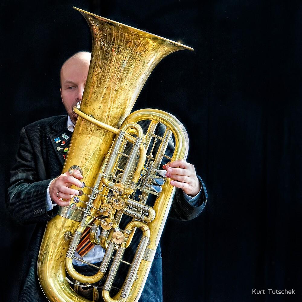 Mnozil Brass - Wilfried Brandstötter by Kurt  Tutschek