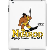 NIMROD - THE HUNTER iPad Case/Skin