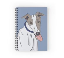 Derrick the Greyhound Spiral Notebook