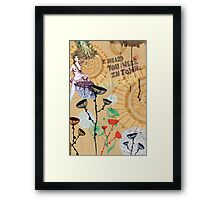 hearsay Framed Print