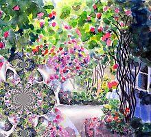 Dreaming of a Rose Garden by Caroline  Lembke