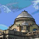 """""""Wilkes-Barre Court House"""" by Gail Jones"""
