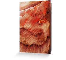 rock tsunami Greeting Card