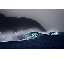 Hula Waves Photographic Print