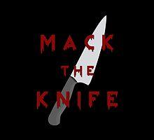 Mack the Knife by folieadeuxs