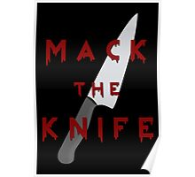 Mack the Knife Poster