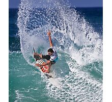 Joel Parkinson 2 At 2010 Billabong Pipe Masters In Memory Of Andy Irons Photographic Print