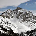 Meribel - Untouched Snow by Chris Monks