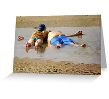 Life's a Beach ~ Relax and Enjoy It Greeting Card
