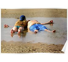 Life's a Beach ~ Relax and Enjoy It Poster