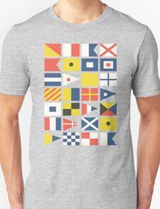 Nautical flag pattern T-Shirt