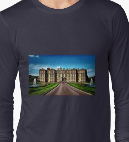 Longleat House-Wiltshire-England Long Sleeve T-Shirt