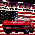 """Corvette ~ America's Only Sportscar"" by Gail Jones"
