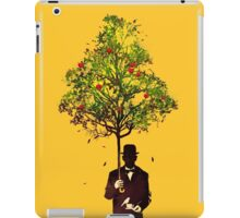 The ethical gentleman yellow iPad Case/Skin