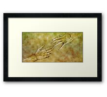 The Liberation of Man - Silverpoint Framed Print