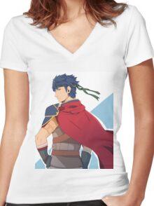 Ike Women's Fitted V-Neck T-Shirt