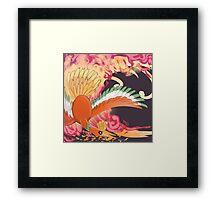 Ho-Oh (Okami Inspired) Framed Print