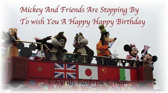 Mickey And Friends by DreamCatcher/ Kyrah Barbette L Hale