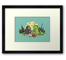 Let's have a picnic Framed Print