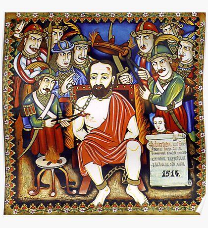 Martyrdom of G.Doja. Poster
