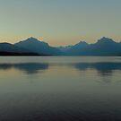 Lake McDonald Sunset by Susan Russell