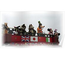 MICKEY AND FRIENDS Poster