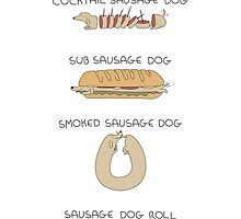 Sausage Dog Dishes by scarriebarrie