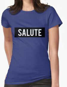 Salute Word Block T-Shirt