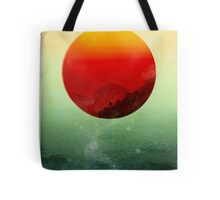 In the end the sun rises Tote Bag