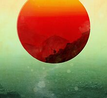 In the end the sun rises by Budi Kwan