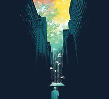 I want My Blue Sky by Budi Kwan