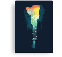 I want My Blue Sky Canvas Print